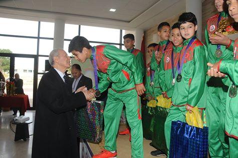 وزارة التربية الوطنية والتكوين المهني تنظم حفل استقبال على شرف المنتخبين الوطنيين المدرسين للعدو الريفي ولكرة القدم