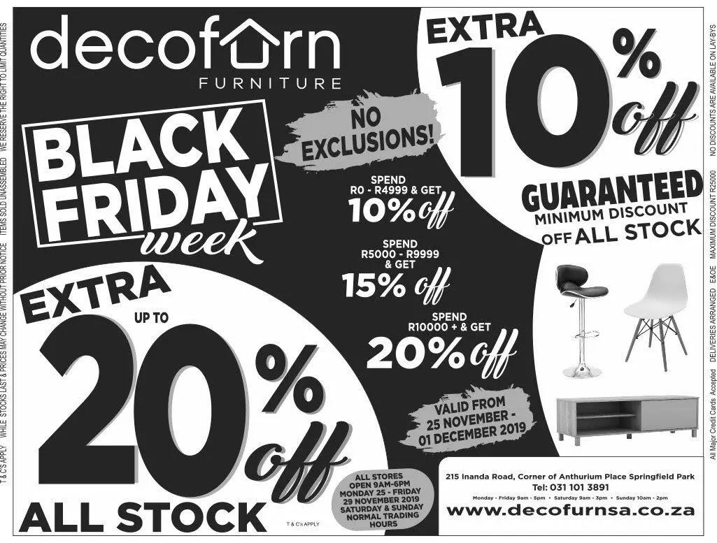 Decofurn Black Friday Deals
