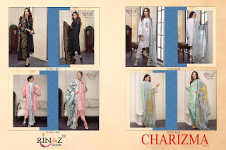 Rinaz Fashion Charizma Vol 3 Pakistani Suit