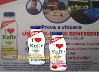 Logo Sveltesse '' I Love Kefir'' ti regala 16 weekend di benessere: scopri come vincere