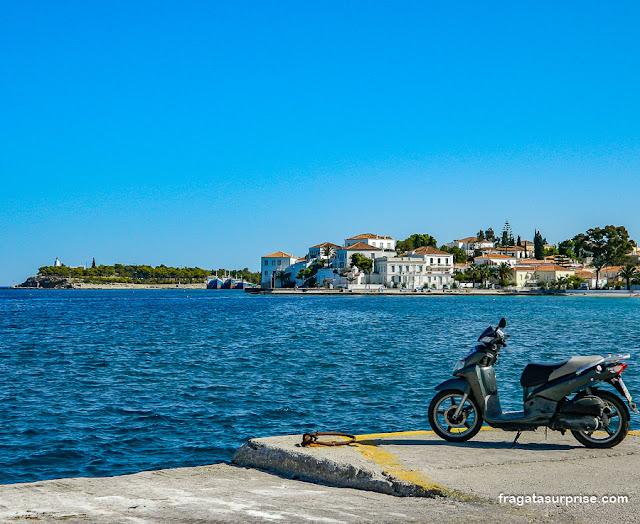 Ilha de Spétses, Grécia