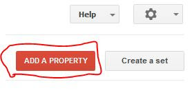 Add your property to google webmaster.