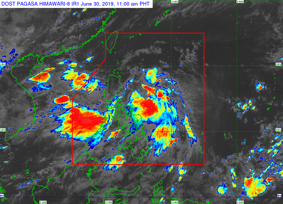 Bagyong Egay remains less likely to make landfall on any part of the country