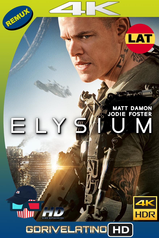 Elysium (2013) BDRemux 4K HDR Latino-Ingles MKV