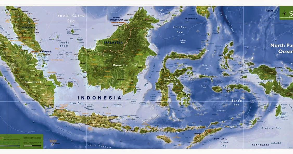 Download Peta Provinsi Lengkap - Katalog Geografi