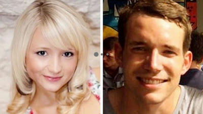 Hannah Witheridge and Davild Miller