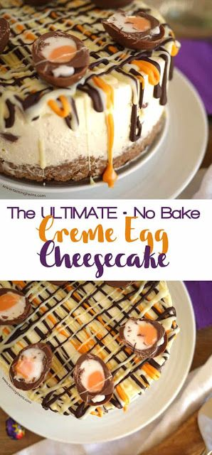 Creme Egg Cheesecake Recipe With Cadbury's Chocolate