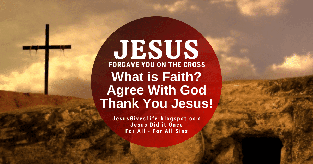 Jesus Forgave You at the Cross