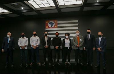 Doria recebe empresários do Vale do Ribeira no Palácio dos Bandeirantes