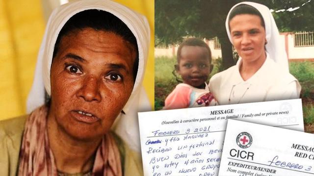 Ditahan Empat Tahun oleh Teroris, Suster Gloria Kirim Surat untuk Keluarga