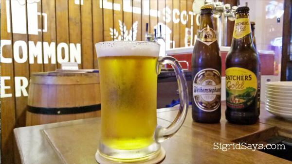 Brewery Gastropub Bacolod restaurant Stella Artois beer