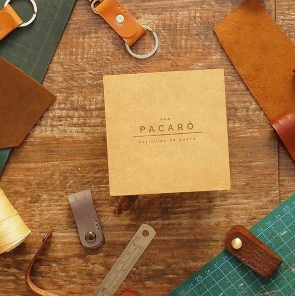 pacaro leather box
