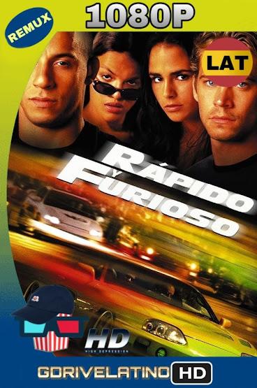 Rápido y Furioso (2001) BDRemux 1080p Latino-Ingles MKV