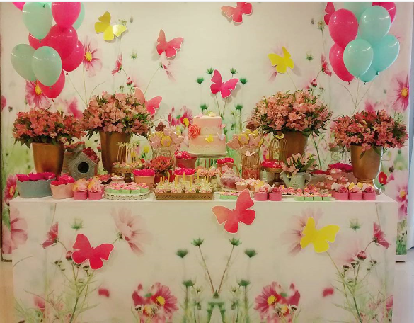 decora con lindas mariposas tu baby shower