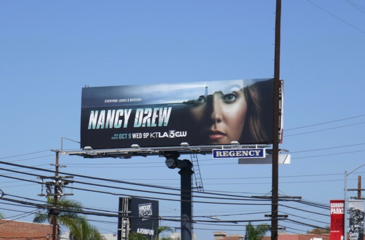 Nancy Drew season 1 billboard
