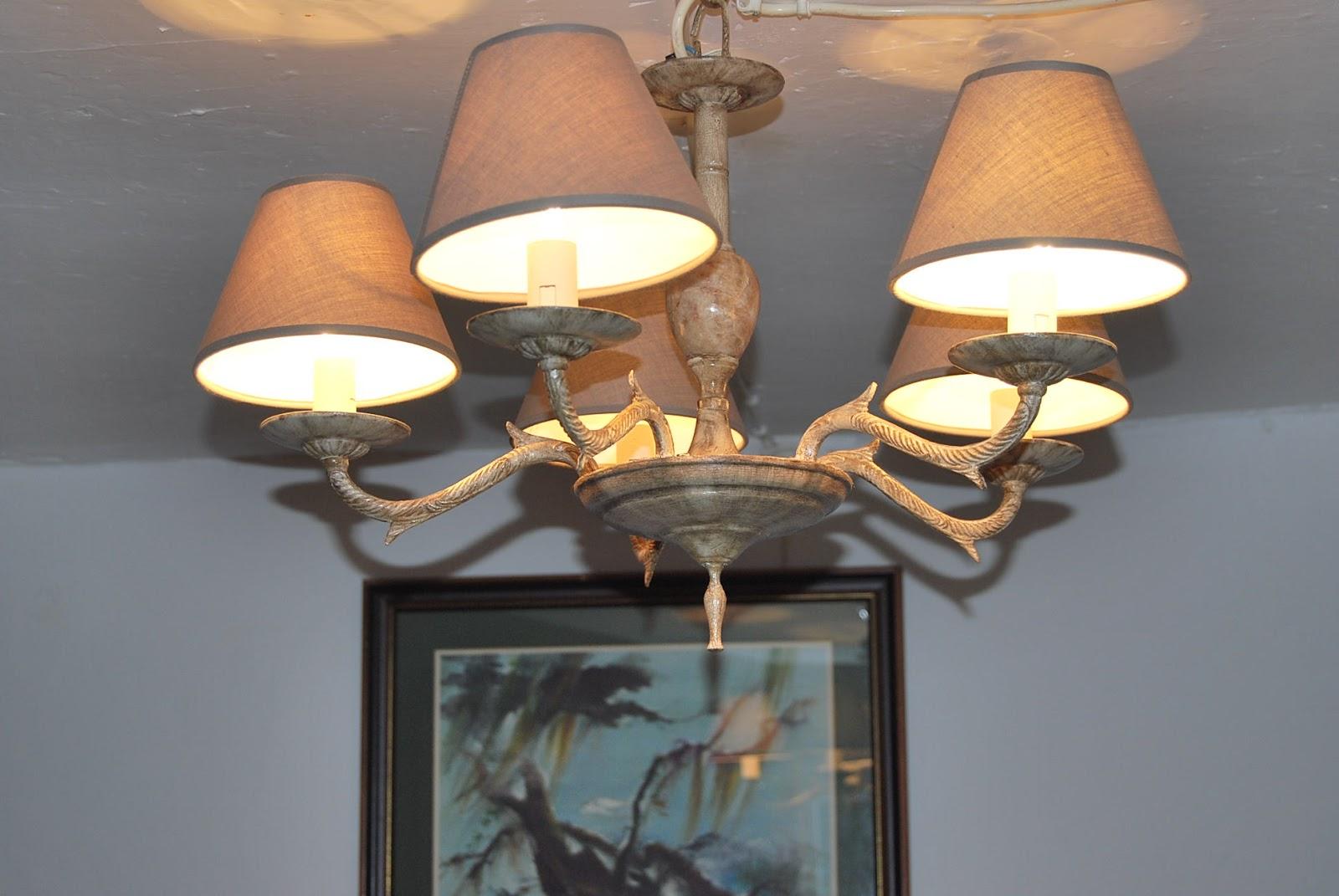 Esta casa es una ruina reciclando una lampara de techo - Lamparas de techo ...