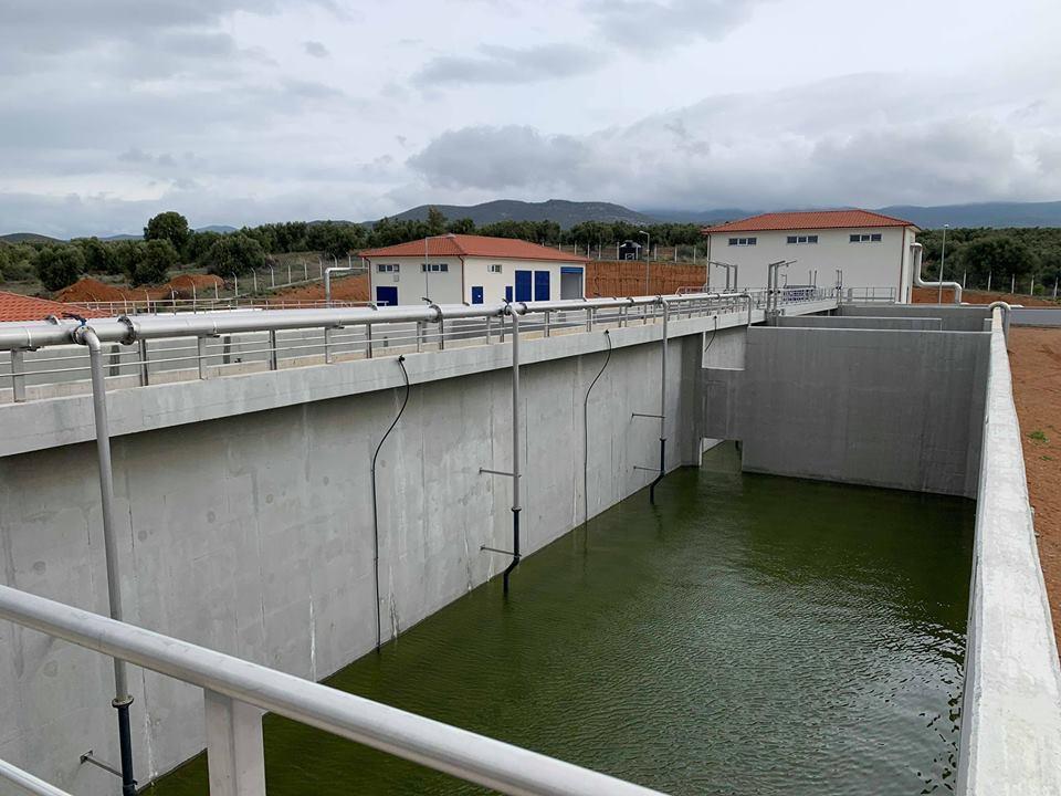 Ολοκληρώνεται και παραδίδεται ο βιολογικός σταθμός του Πολυγύρου- Καλυβών
