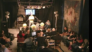 Screen capture from the livefeed of the reading