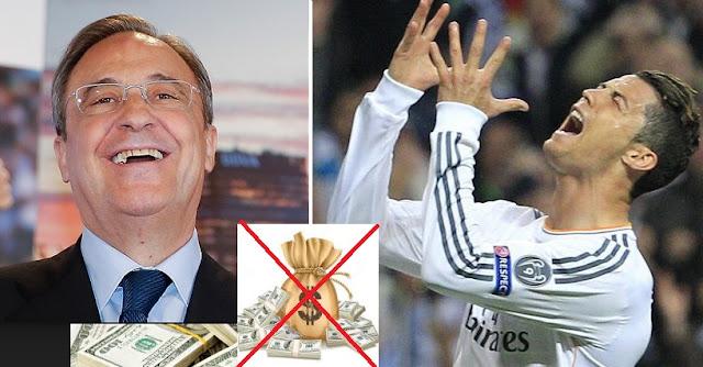 Florentino: No hay más dinero para Cristiano