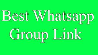 Best Whatsapp Group Link