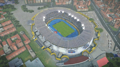 PES 2017 Stadium San Paolo with Exterior View