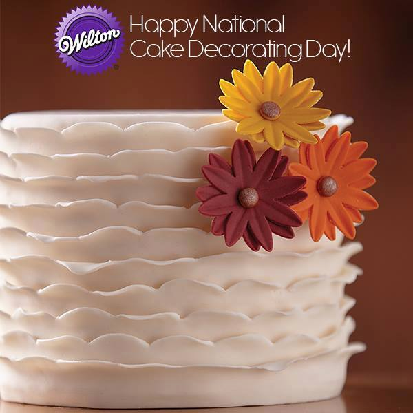 National Cake Decorating Day Wishes Beautiful Image