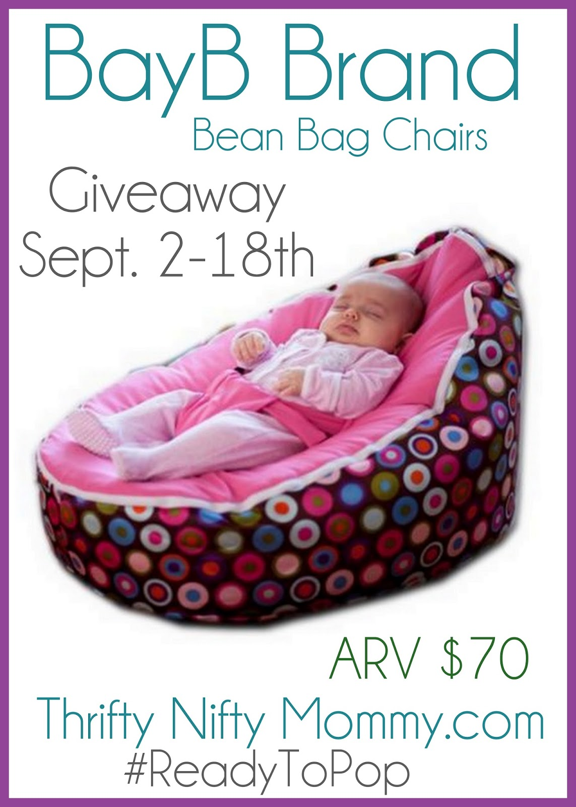 Bayb Bean Bag Chairs Giveaway Readytopop Thrifty