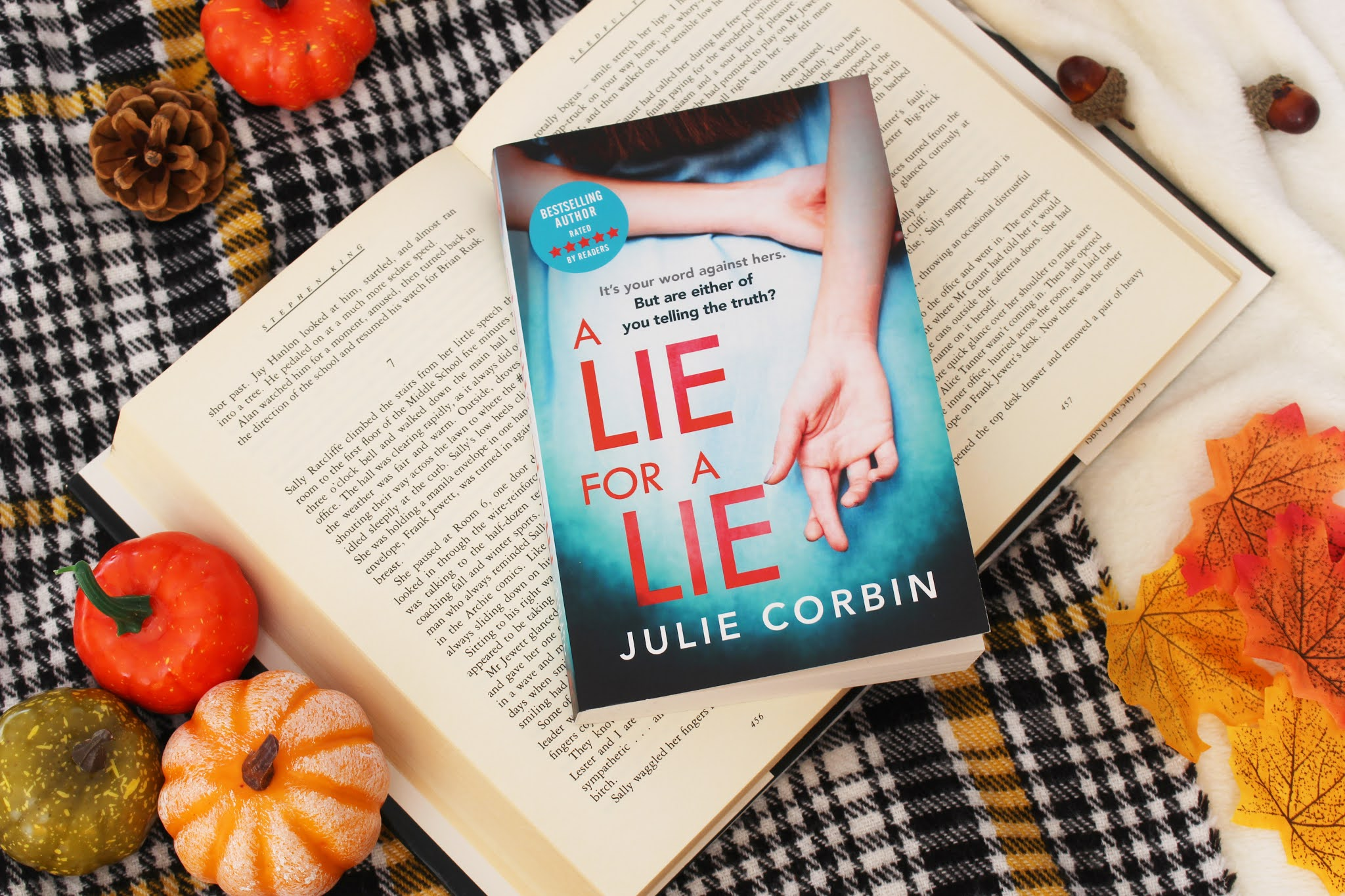 A Lie For A Lie By Julie Corbin | Book Review