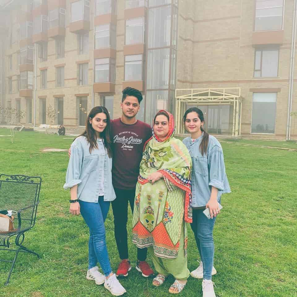 Aiman, Minal and Amal visiting Northern Areas giving us Family Vacation Goals