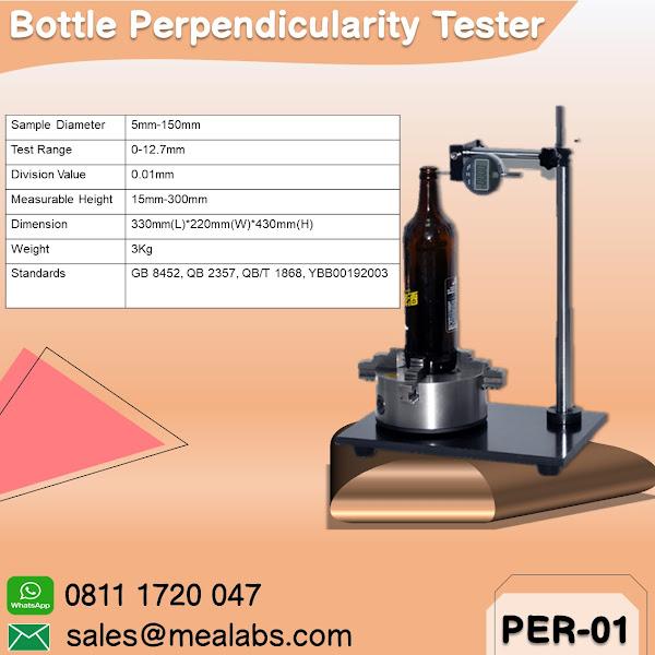 PER-01 Bottle Perpendicularity Tester