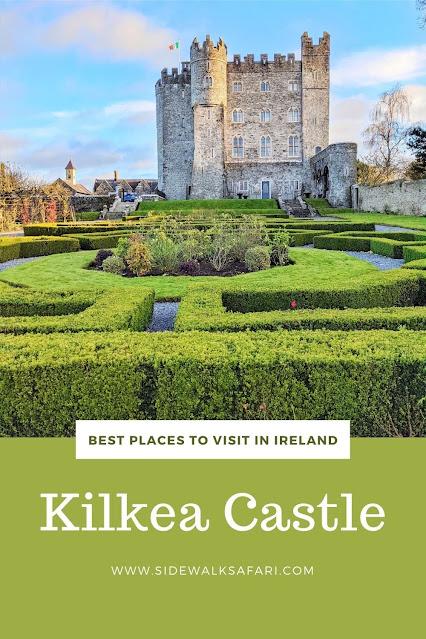 Best Places to Visit in Ireland: Kilkea Castle