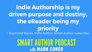 "image reads:  ""Indie authorship is my driven purpose and destiny, the eReader being my priority"""