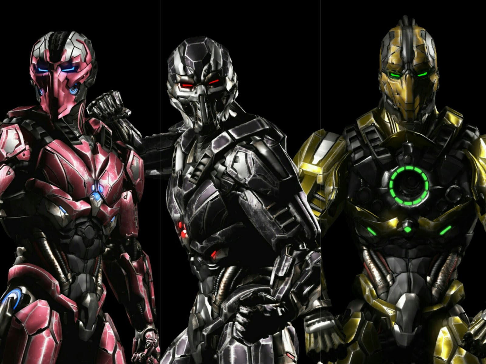 Cyrax And Sektor Wallp...