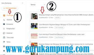 Guru kampung Martin Karakabu Cara Mengubah HTML Blogspot Menjadi Tulisan Biasa