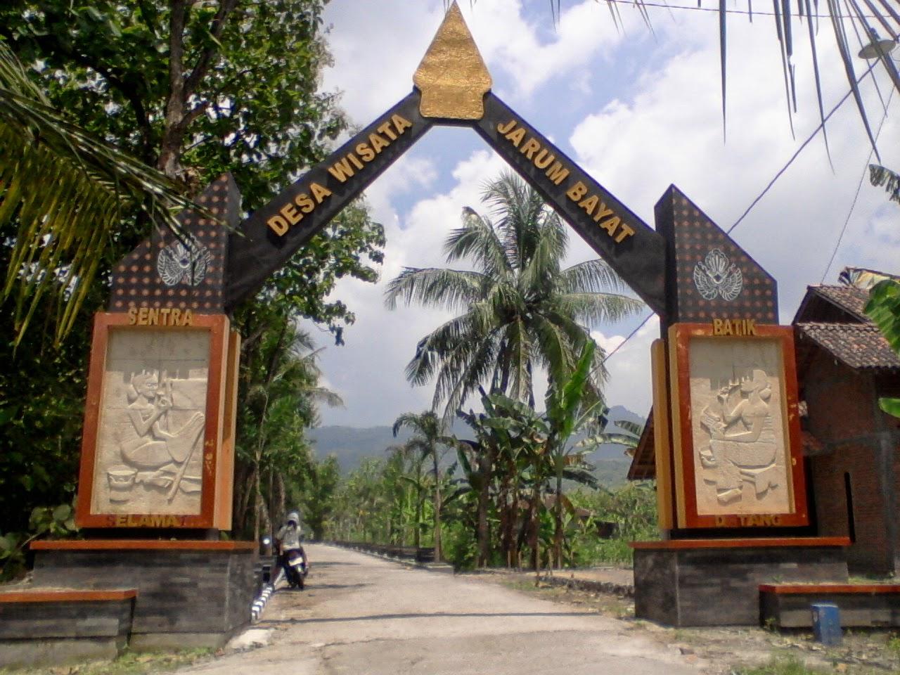 Batik Indonesia Batik Dunia: Desa Wisata Batik Jarum Bayat ...