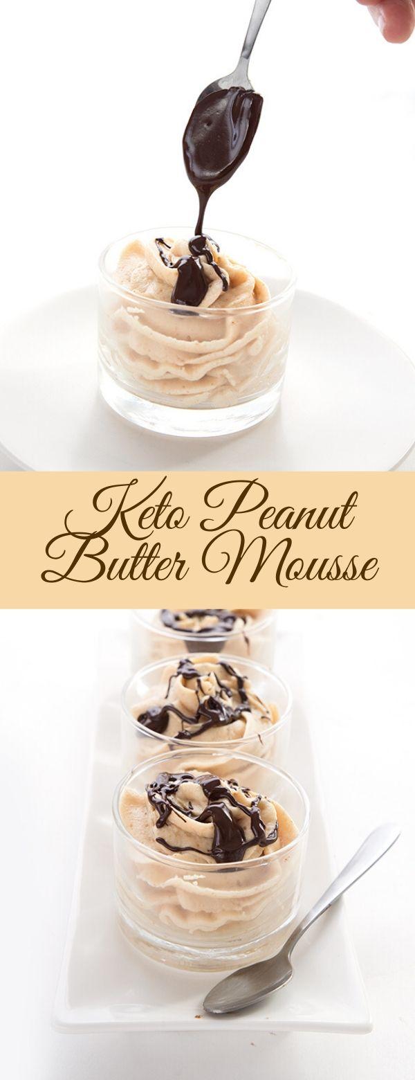 Keto Peanut Butter Mousse