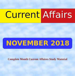 NOVEMBER 2018 - Complete Month CA Study Material
