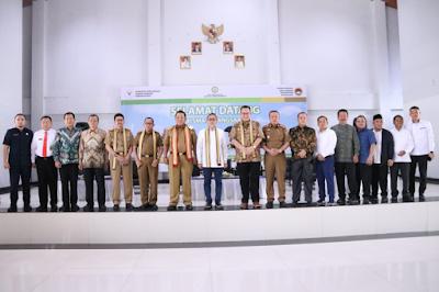 Gubernur Kunjungi Sekolah Kebangsaan di Lampung Selatan