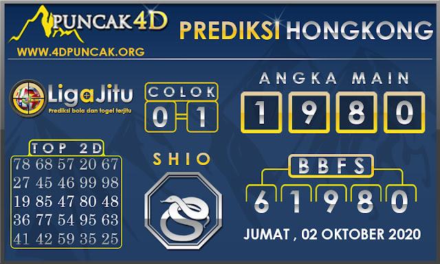 PREDIKSI TOGEL HONGKONG PUNCAK4D 02 OKTOBER 2020