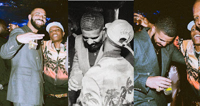 Wizkid parties with Drake in London for 'Scorpion Album' Celebration