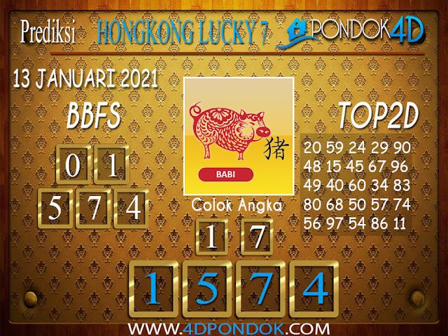 Prediksi Togel HONGKONG LUCKY 7 PONDOK4D 13 JANUARI 2021