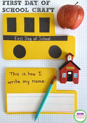 First Day of School Craft