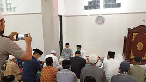Safari Ramadhan di Kelurahan Ule, Wali Kota Beri Bantuan Untuk Pembangunan Masjid