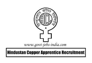 Hindustan Copper Apprentice Recruitment 2020