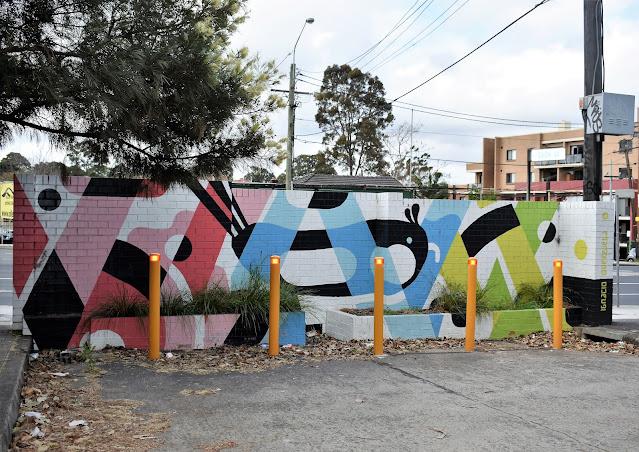Strathfield Street Art | Mural by Ignacio Querejeta