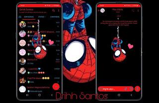 Spider Man Theme For YOWhatsApp & Fouad WhatsApp By Driih santos