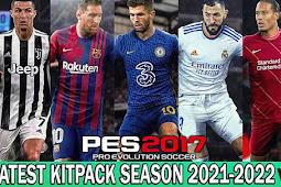 Kitpack New Season 2021/2022 V8 - PES 2017