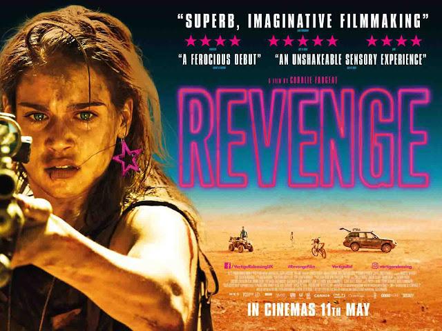 مراجعة فيلم الإثارة Revenge.. عندما تنتقم النساء وتسيل الدماء، الكثير من الدماء...