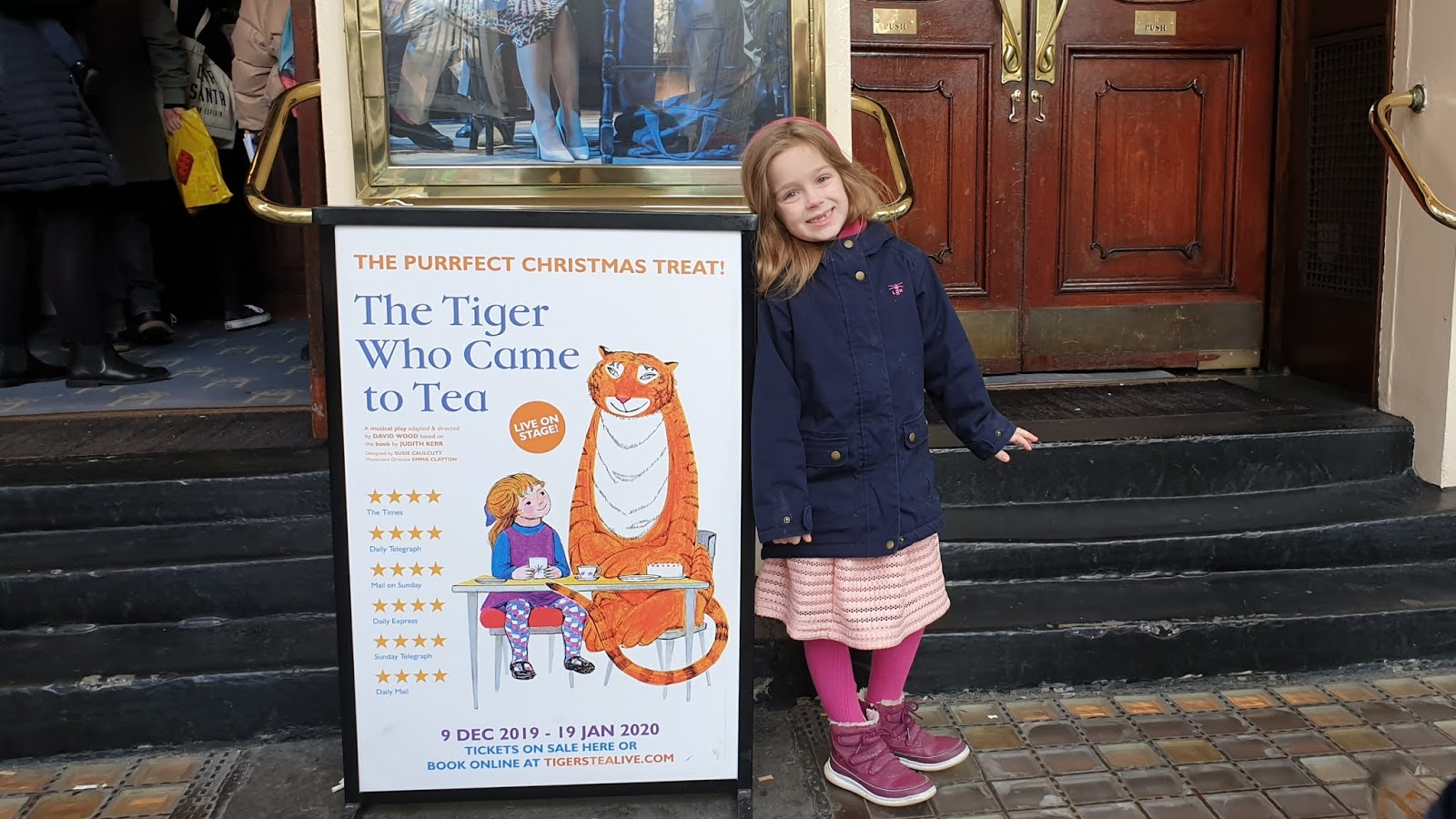 tiger who came to tea theatre show