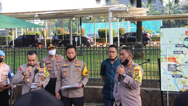 Takut Massa Aksi Selamatkan Pancasila Membludak, Polisi Bakal Tutup Pintu Tol di Kawasan DPR